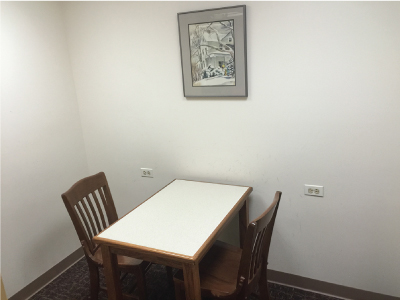 Two Person Study Room