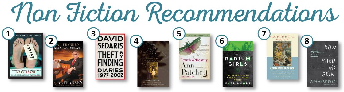Summer Reading 2017 Adult Non Fiction Recommendations