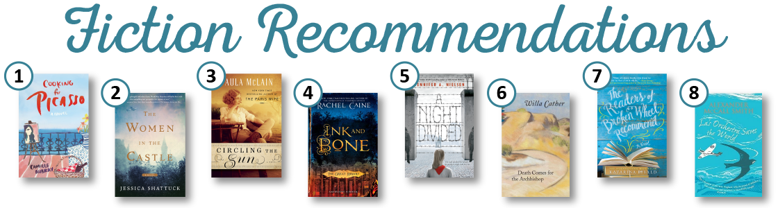 Fiction Recommendations from Summer Reading 2017